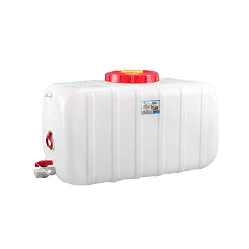 HWhome Tanque De Agua De Plástico De Grado 160L bidón Plástico con Grifo Emergencia Contenedor De AGU Cámping Jarra Portadora De Almacenamiento De Agua Tanque De Agua del Coche Cubo De Agua