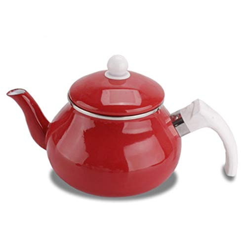 LCFF Bouilloire 2.0L Encastrable Théière Mariage Plein Pot Rouge