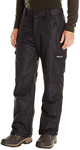 Arctix Men's Snow Sports Cargo Pants, Black, Large/Regular