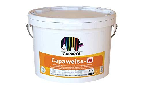 Caparol Capaweiss W Pittura Traspirante Resistente alle Muffe Lt 14