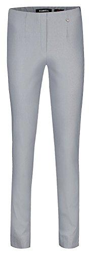 Robell Marie Stretchhose Schlupfhose Damen Hose Slim Fit - Winterkollektion 2015/16 (48, grau(96))