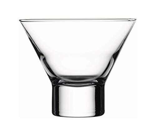 Copa de martini Petra. 240 ml. Sin tallo. 12 unidades