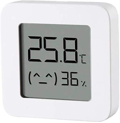 Xiaomi Mi Bluetooth Temperatur Luftfeuchtigkeit 2 Echtzeitmonitor, Smart Home Digital Thermometer Arbeiten mit der mit Mihome Mijia App