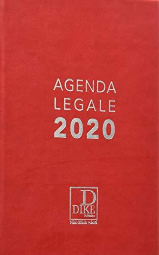 Agenda legale d'udienza 2020. Ediz. rossa