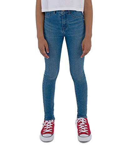 Levi's Kids Lvg 720 High Rise Super Skinny Jeans Fille Bleu 12 ans