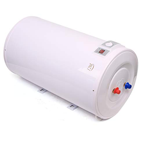 Elektro Warmwasserspeicher, 2000W, ABS, 100/120 Liter Speicher Mit Duschset, für Wandmontage - Wasserboiler, Boiler, Warmwasserbereiter, Warmwasserboiler für Bad (120L)