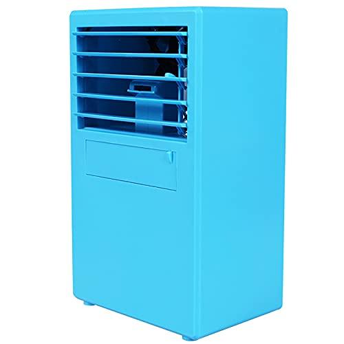 HALIGHT Ventilador Aire Acondicionado portátil, Aire Acondicionado Personal con 3 velocidades Viento, Ventilador Escritorio humidificador evaporativo pequeño silencioso, para Oficina, Dormitorio