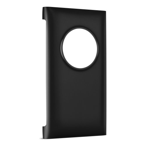Nokia CC-3066-Black Wireless Charging Cover for Lumia 1020 - Retail Packaging - Black
