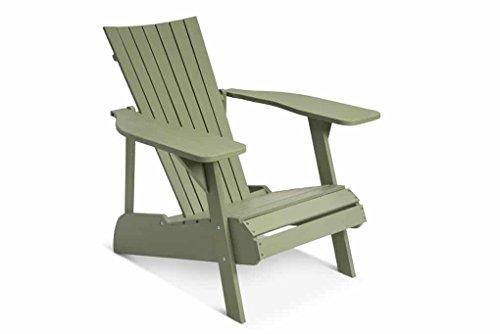 LANTERFANT – Adirondack Gartensessel Fred, Gartenstuhl, Lounge Sessel, Akazien Holz, Erhältlich in fünf Farben, Grün