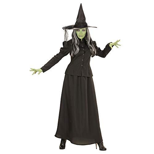 WIDMANN- Disfraz de bruja para adultos, Multicolor, medium (74482)