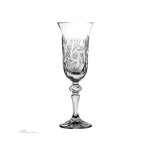 CRISTALICA Flûte à Champagne Schleuderstern 170Ml Verre Transparent