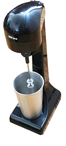 Difora Stand Milk Frother, Frappe Maker, Milk shakes, Matcha Tea Latte, Super 100W Power, 2 Speeds, and is Always Sitting on the Countertop Waiting for Action.