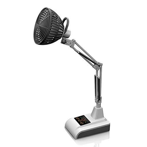 JIU SI Lámpara de Calor Mineral infrarroja, Dispositivo de Calidad para Alivio del Dolor 110V 220Watts (lámpara de Infrarrojos lejanos TDP, Escritorio)