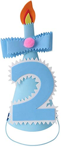 Review Of Birthday Party Hats Second Birthday Cone Tiara Crown Birthday Hat Cap Party Supplies for K...
