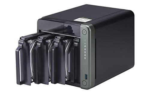 QNAP TS-453D-8G 4 Bay Desktop NAS Gehäuse