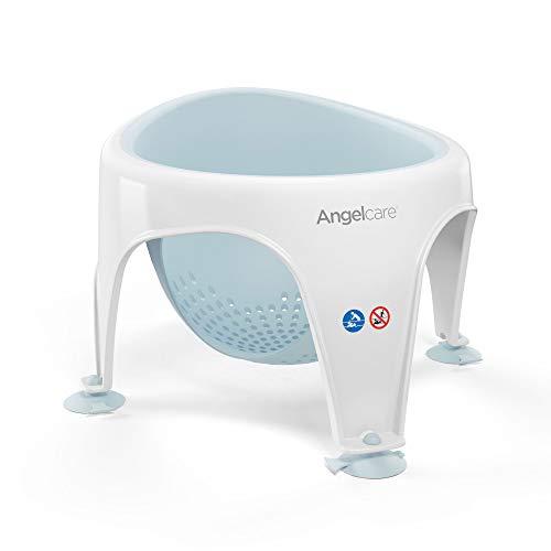 Angelcare - Silla de bebé para baño, suave al tacto agua