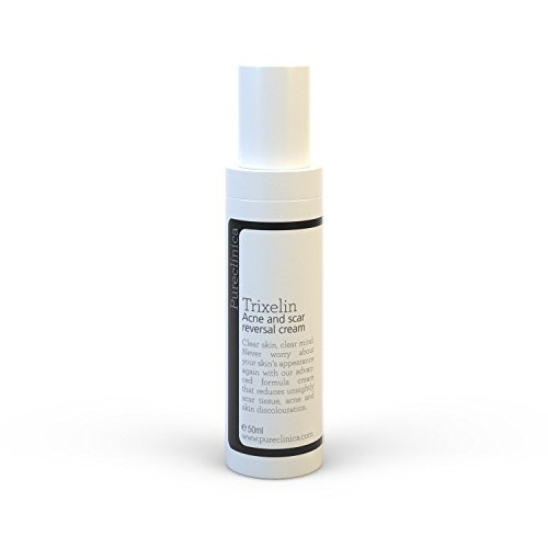 Trixelin Acne and Scar Cream 50ml. Generates new, perfectly smooth skin to reduces even the oldest of scars by up to 80%. SKU: TAR by Pureclinica