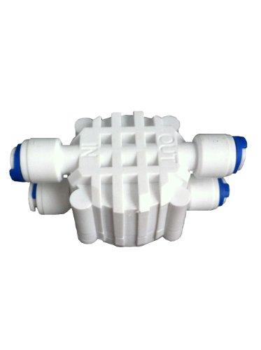 The Water Filter Men Umkehr-Osmose-System, Auto Shut-Off 4-Wege-Ventil mit Steckanschlüssen für Pushfit ASO 1/RO Ventil 10,16 cm