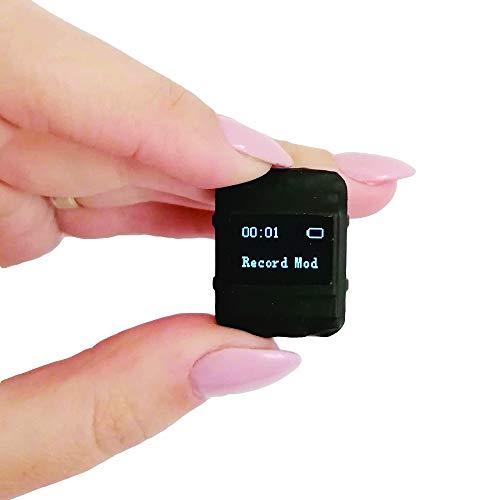 Grabadora de Voz con Sensor Activado por Voz, Dimensiones más Pequeñas - Memoria Incorporada para 572 Horas de Grabación, 20 horas Duración de la Batería -8GB