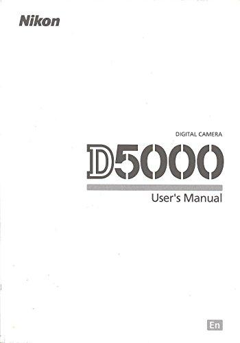 Nikon D5000 User's Manual
