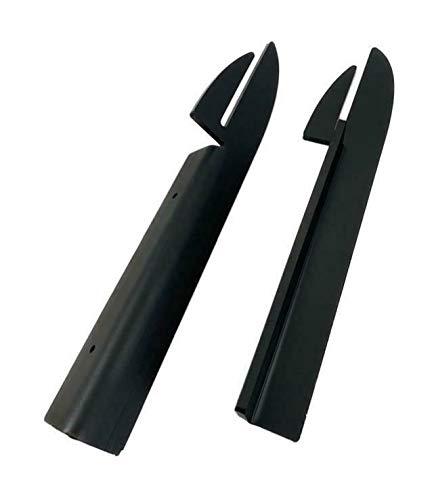 2X Halterung für Anstecktisch Feuerplatte mit Stärke 5/6/8/10mm (6mm #178)
