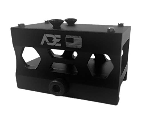 Ade Advanced Optics Absolute Cowitness Riser HIGH Mount - Compatible with Doctor, Burris Fastfire, Vortex Venom/Viper Red Dot Sights