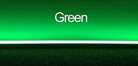 LMNOP Lance Energy Solutions 4 Foot T5 LED Tube Lights for Stage Decoration, Birthday Parties (Green) - Pack of 2