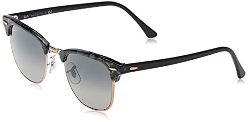 Ray-Ban 0RB3016 Gafas de Sol, Spotted Grey/Green, 50 para Hombre