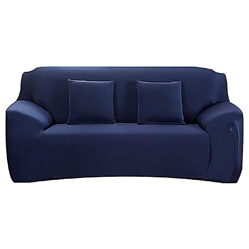 ASCV Funda de sofá para Sala de Estar Fundas ElasticCouch Tight Wrap Todo Incluido Funda de sofá seccional de tamaño estándar A8 2 plazas