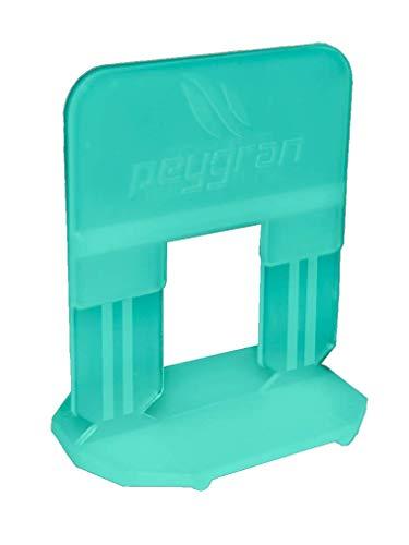 Sistema de nivelación de azulejos Peygran de 3 mm: 300 clips. Para instalación de azulejos y piedra sin desniveles para profesionales y bricolaje. El producto más preciso y fiable del mercado.