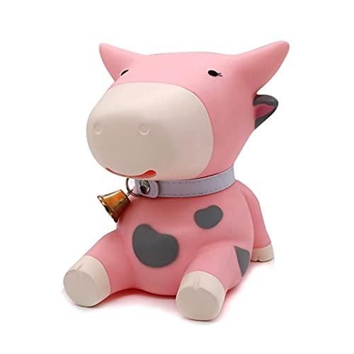 Mavericks Piggy Bank Protección del Medio Ambiente Banco de Monedas de Vinilo Forma de Animal Lindo Tarro de Dinero Regalo Decoración de Escritorio (se Puede depositar y Sacar)