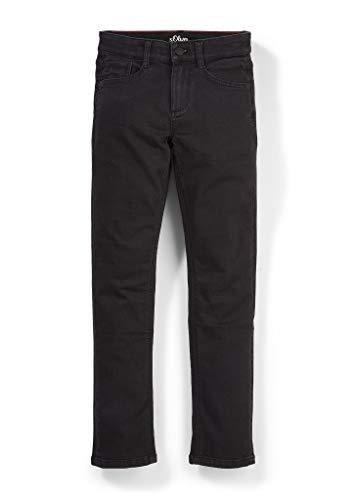 s.Oliver Jungen Regular Fit: Slim leg-Jeans black 158.REG