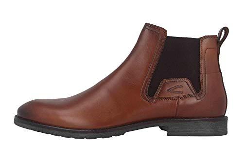 camel active Herren Verona 13 Chelsea Boots, Braun (Almond 1), 49 EU
