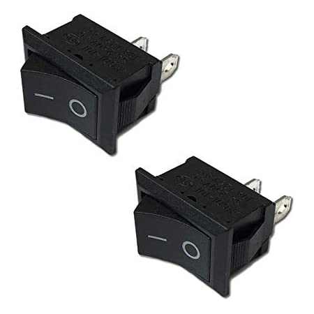 Sodial R 5 X Ac 250v 3a 2 Pin On Off I O Spst Snap In Mini Boat Rocker Switch Business Industry Science