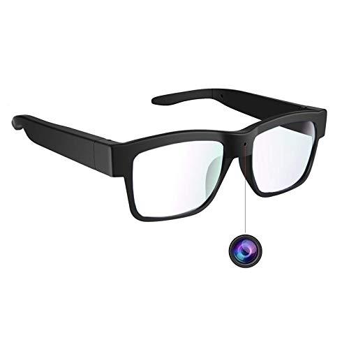 Occhiali per fotocamera 1080P, video HD, scheda di memoria massima 32 GB, occhiali da vista con fotocamera, fotocamera indossabile