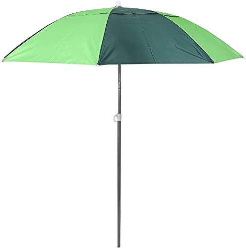 LSYFCL Paraguas de Patio Paraguas a Prueba de Lluvia para Exteriores Paraguas de Bloque Solar Paraguas de Pesca de una Sola capasombrillas Grandes pergolas