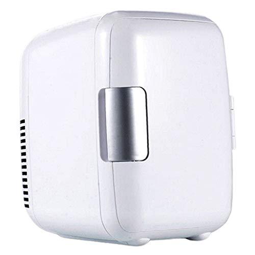 Fenteer Mini réfrigérateur Électrique 12V Réfrigérateur Portable Equipé 1 câble de Voiture - Blanc