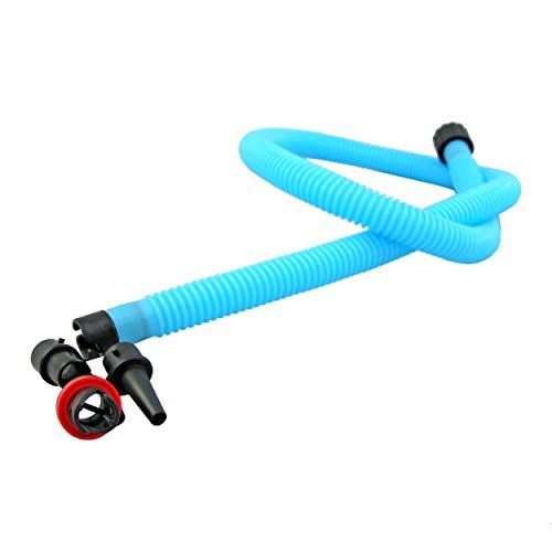 Schlauch für Bravo Hand Luft Pumpen, Ersatz-Schlauch (u.a. SUP 3, SUP 4 UVM.) blau