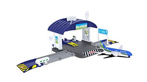 Majorette Creatix Airport 1 Veh Hangar 7/212050017038, Mehrfarbig