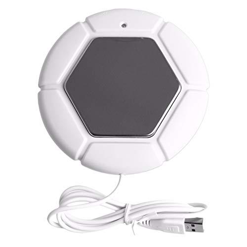Homclo USB Becher wärmer Fußball tassenwärmer elektrisch Koffeewärmer Heizung wärmer behälter für Koffee,Tee, Büro