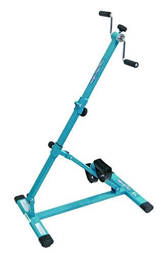 サギサカ(SAGISAKA) フィットネスバイク ルームサイクルこげーるVIVA 自宅で簡単に手足のトレーニングができる 折りたたみ式でコンパクト収納 9032 ブルー