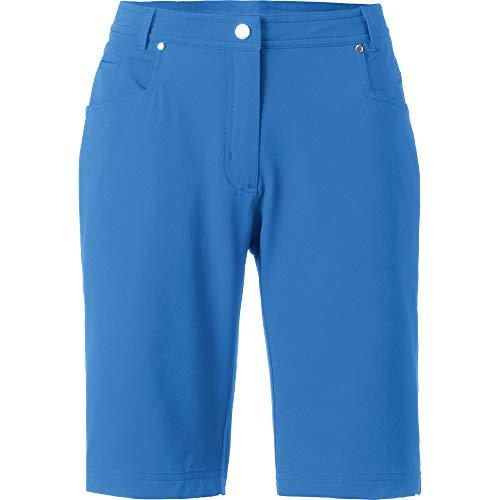 Linea Primero Kurze Hose Short Outdoorhose Allroundshorts Fitnesshose Bermuda Damen KENORA URBAN Farbe blau, Größe 38