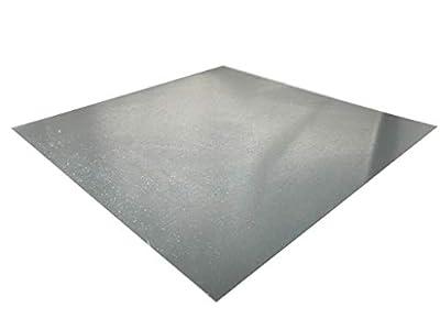 Chapa de acero galvanizado de 0,7 mm a 3 mm, DX51D, chapa fina, medida de corte a elegir, 1000mm x 500mm x 1mm, 1