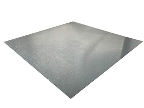 Chapa de acero galvanizado de 0,7 mm a 3 mm, DX51D, chapa fina, medida de corte a elegir, 700mm x 300mm x 3mm, 1