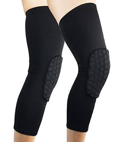 Eiza 膝パッド 作業用 2枚 膝当て 怪我防止 ニーパッド 園芸 スポーツ アウトドア e899 (ブラック, M)