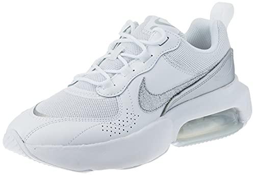 Nike Wmns Air MAX Verona, Zapatillas para Correr Mujer, White White Mtlc Silver, 41 EU