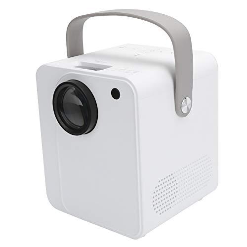 Mini proiettore, proiettore LED, proiettore Full HD, proiettore cinematografico, videoproiettore home theater portatile Proiettore intelligente wireless 1080P per casa e ufficio(Unione Europea)