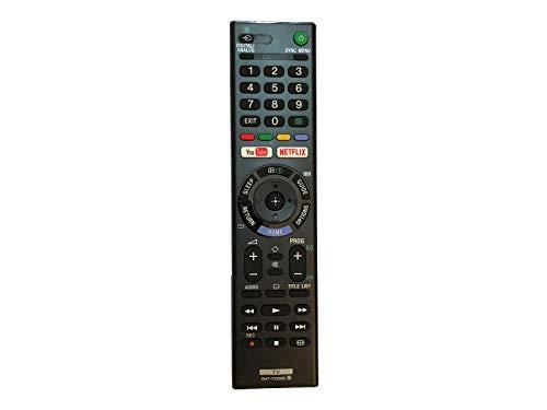 azurano Universal Ersatz-Fernbedienung | Kompatibel mit Sony RMT-TX300E, 1-493-314-11 | TV Projektor HiFi Fernbedienung | 149331411, KD43X7000E, KD-43X7000E, KD43X7000F, KD43X720E, KD-43X720E,