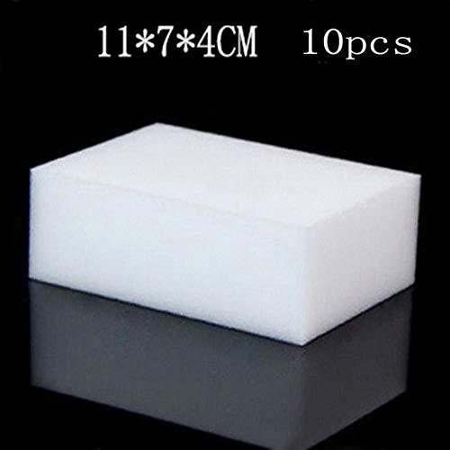 10 Stücke Schwamm Mit Hoher Dichte Küchenreinigungswerkzeuge Waschen Handtücher Wischen Lappen Schwamm Scheuerschwamm Mikrofaser Geschirrtuch, 10 stücke