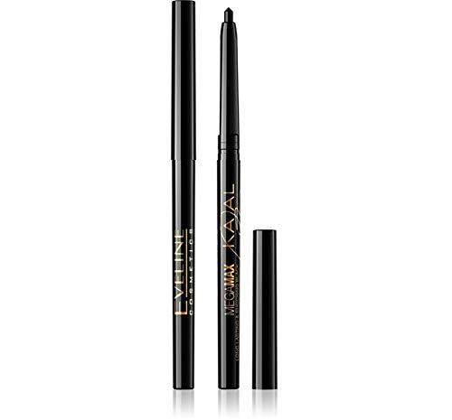 EVELINE Eyeliner Pencil lange haltend mit Anschpitzer, Black